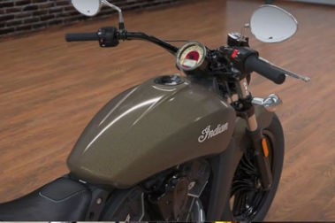 Indian Scout Sixty Console View
