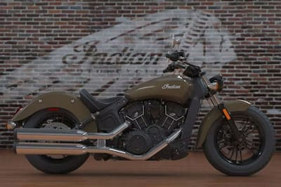 Indian Scout Sixty Right Side View