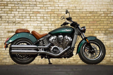Indian Scout Right Side View