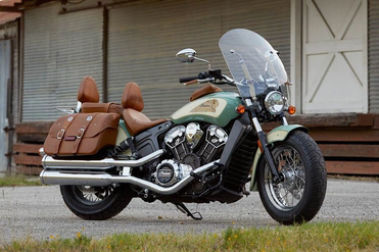 Indian Scout Front Right View