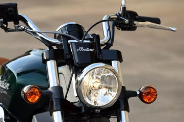 Indian Scout Head Light