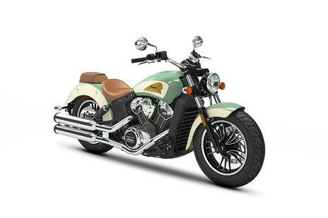 Indian Scout Willow-Green-over-Ivory Cream with Gold Pinstripe