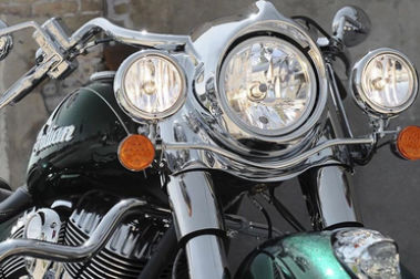Indian Springfield Head Light