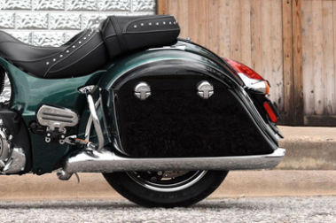 Indian Springfield Rear Tyre View