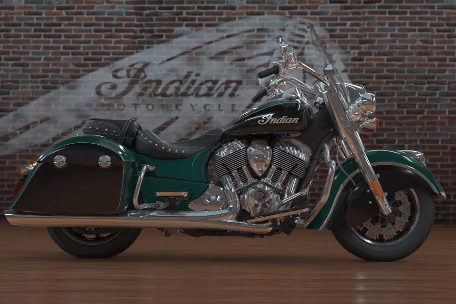 Indian Springfield Right Side View