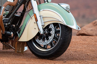 Indian Roadmaster Classic Front Tyre View