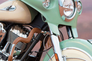 Indian Roadmaster Classic Front Mudguard & Suspension