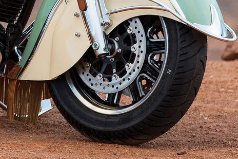 Indian Roadmaster Classic Front Brake View