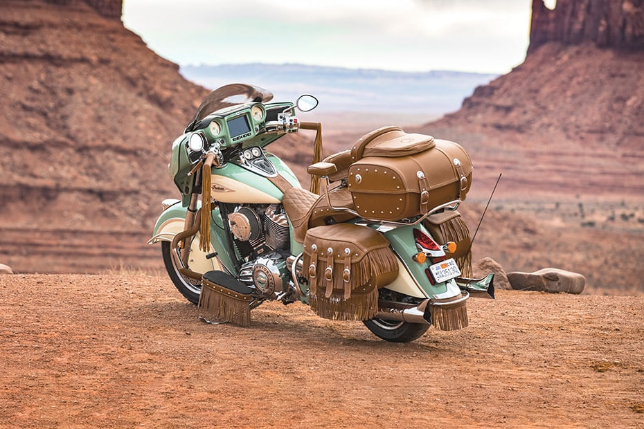 Indian Roadmaster Classic Rear Left View