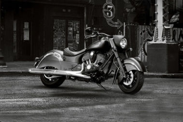 Indian Scout Bobber Front Right View