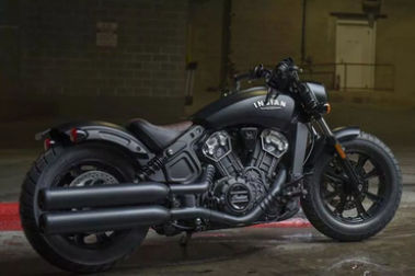 Indian Scout Bobber Rear Right View