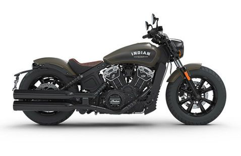 Indian Scout Bobber Green