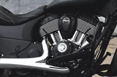 Indian Springfield Dark Horse Engine