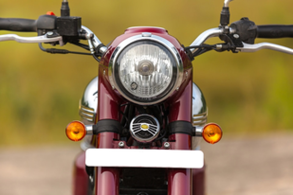 Jawa Head Light