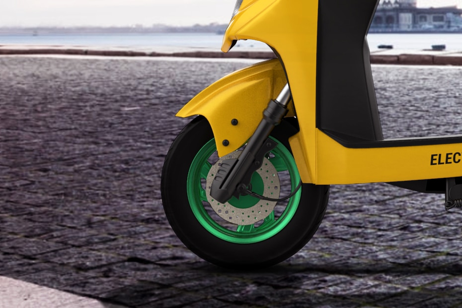 Kabira Aetos 100 Front Tyre View