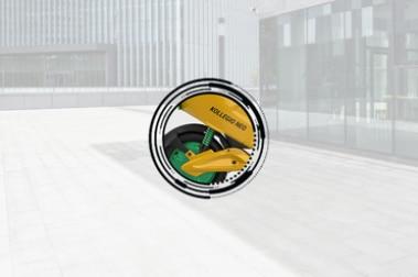 Kabira Mobility Kollegio Neo Rear Suspension View