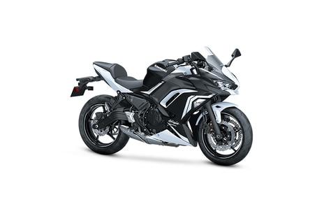 Kawasaki Ninja 650 White Metallic
