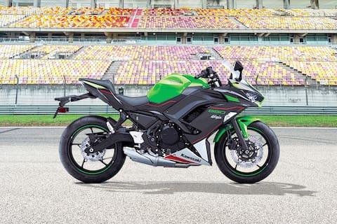 Kawasaki Ninja 650 Right Side View