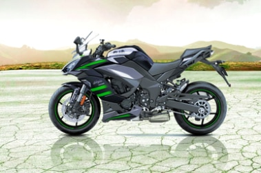 Kawasaki Ninja 1000 Left Side View