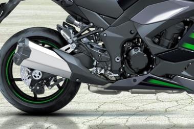 Kawasaki Ninja 1000 Exhaust View