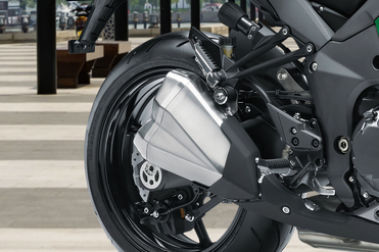 Kawasaki Ninja 1000 Exhaust View