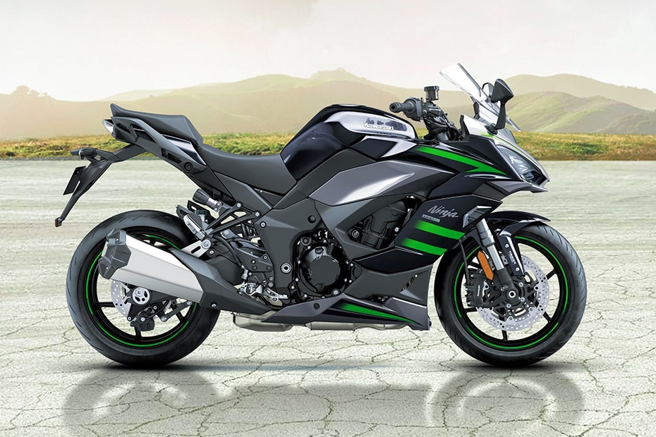 Kawasaki Ninja 1000 Right Side View