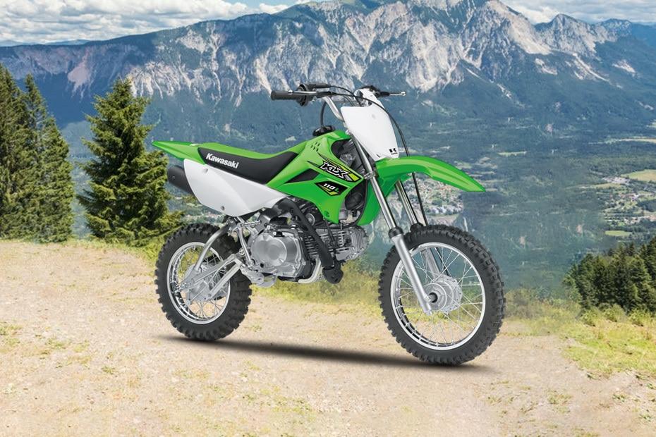 Kawasaki KLX 110 Front Right View