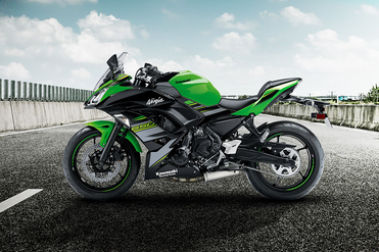 Kawasaki Ninja 650 Left Side View