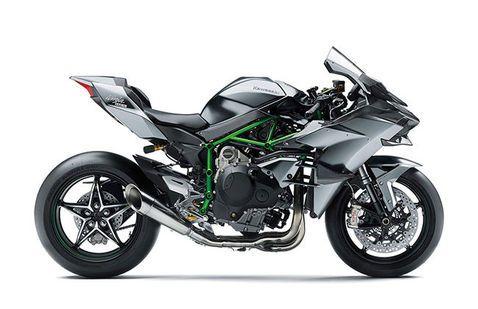 Kawasaki Ninja H2 Silver
