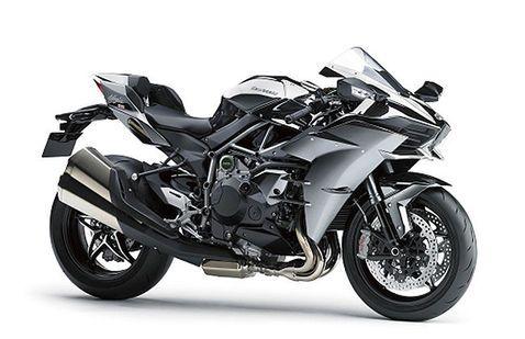 Kawasaki Ninja H2 Grey