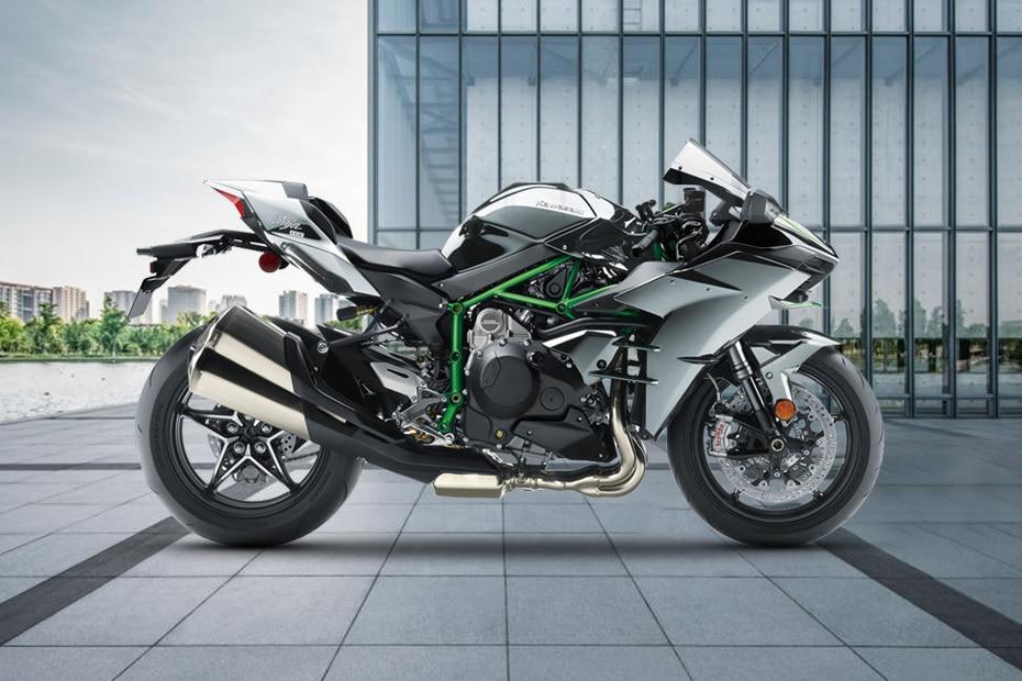 2021 Kawasaki Ninja H2 Right Side View