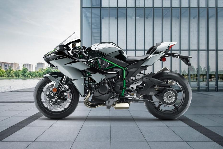2021 Kawasaki Ninja H2 Left Side View
