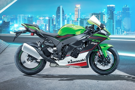 Kawasaki Ninja ZX-10R Left Side View