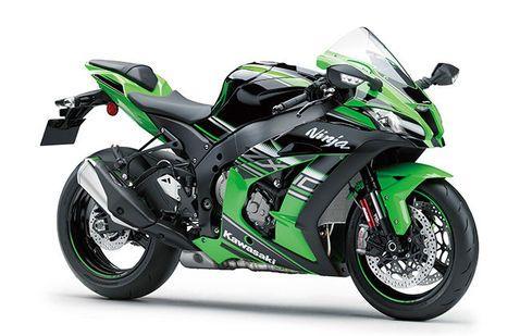 Kawasaki Ninja ZX 10R Green