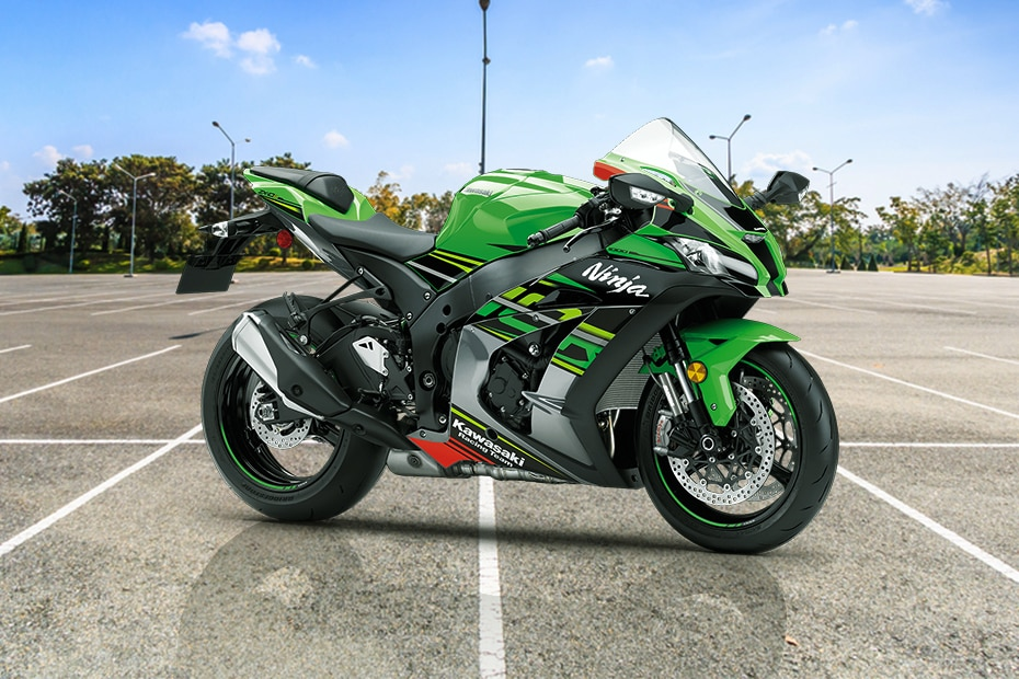 Kawasaki Ninja ZX 10R Right Side View