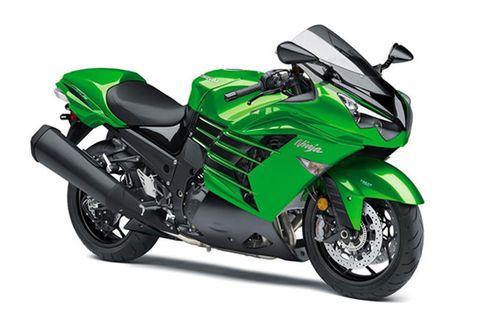 Kawasaki Ninja ZX 14R Green