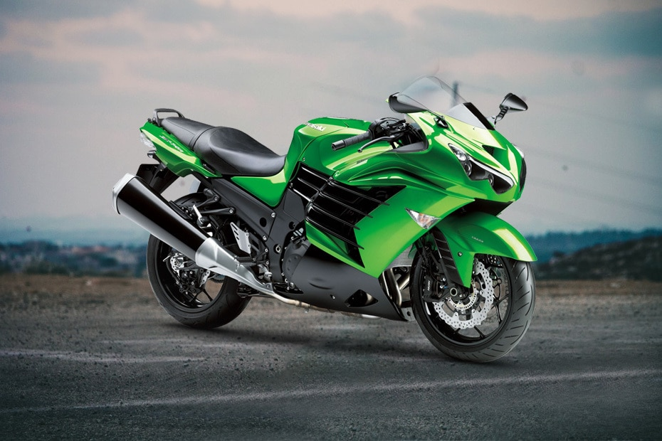 Kawasaki Ninja ZX 14R Front Right View