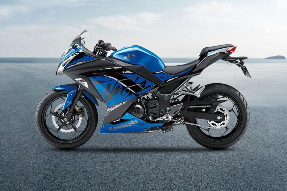 Kawasaki Ninja 300 Left Side View