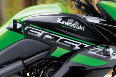Kawasaki Versys 650 Brand Logo & Name