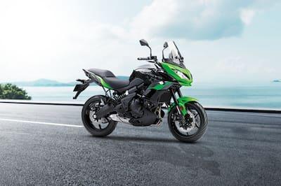 Kawasaki Versys 650 Front Right View