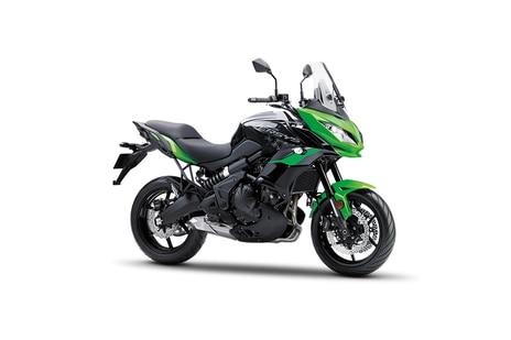 Kawasaki Versys 650 Candy Lime Green
