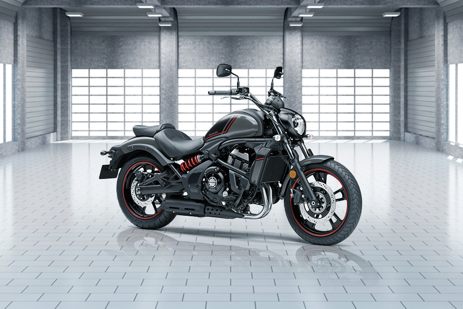 Kawasaki Vulcan S Right Side View