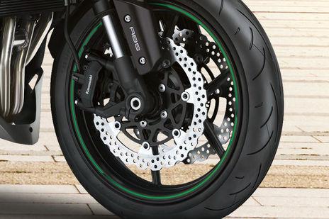 Kawasaki Z1000 Front Brake View