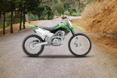 Kawasaki KLX 140 Right Side View