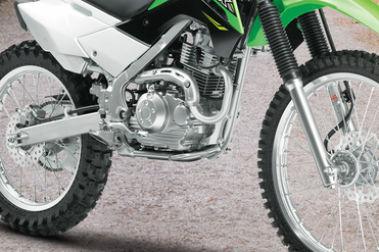 Kawasaki KLX 140 Engine