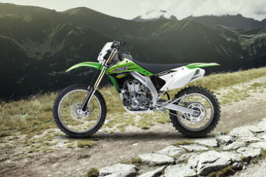 Kawasaki KLX 450R Left Side View