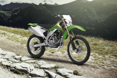 Kawasaki KLX 450R Front Right View