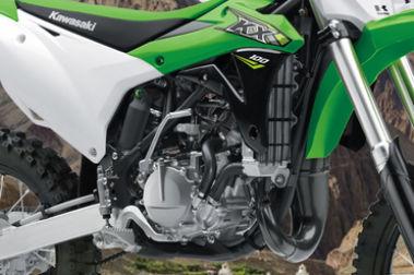 Kawasaki KX 100 Engine