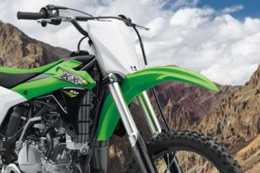 Kawasaki KX 100 Front Mudguard & Suspension