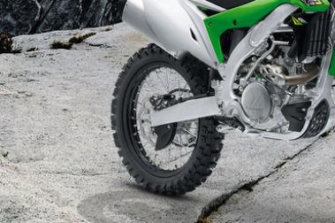 Kawasaki KX 450F Rear Tyre View
